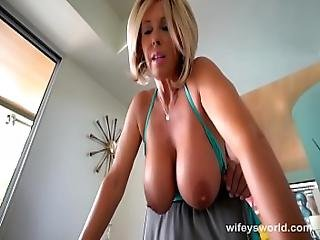 something gorgeous blonde sydney cole pov workout fuck for the help