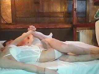 Tender Sex With A Russian Bride On Her Wedding Night. Cum Face