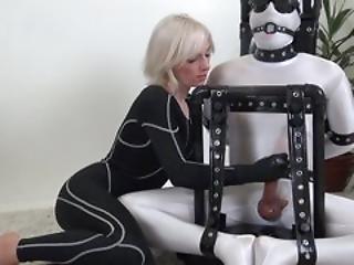 Bdsm, Femdom, Handjob, Latex, Mistress, Orgasm, Slave, Teasing