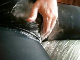 Orgasmus In Messy Spandex