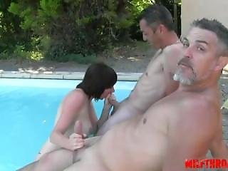 Hot Milf Dp And Facial