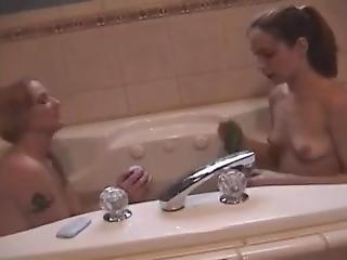 Lesbian Burping