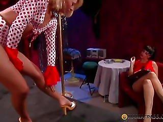 Girl In Skirt Dancing For Girls
