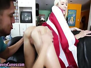Blonde Booty Ho Drilled