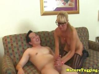Consider, bigtits spex stockings giving milf in hj with opinion