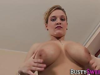 Buxom Slut Gets Facial