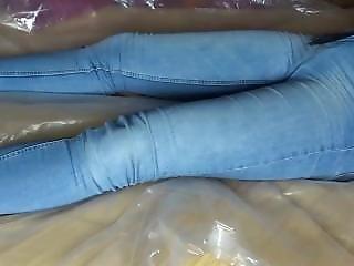 džíny, orgasmus, chanky, úplá