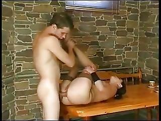 Young Guy Fucks Mature Mother