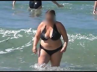 amatoriale, bbw, tette grandi, bikini, masturbazione, matura, milf, in pubblico, da sola