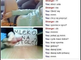 Polish Omegle Girl 32 - Fuck Me In The Ass