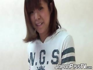 Real Japanese Cuties Filmed While Peeing And Having Fun! These Naughty Babes Never Miss Out On A Pissing Competition!