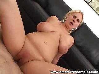 Chubby Teen Cindee Gets Her Fat Pink Pussy Creampied
