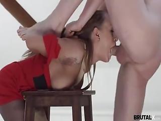 Model Fucks His Bitchy Painter
