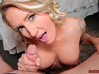 Strokies Reagan Lush Cum In Mouth Handjob