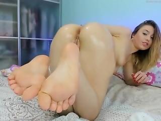anaal, kont, dikke kont, blonde, room, fetish, masturbatie, solo, spellen, webcam