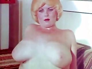 Amatør, Bbw, Store Bryster, Bryst, Baxom, Vintage
