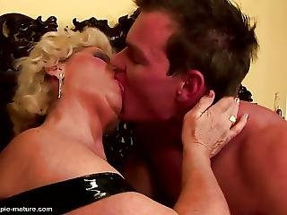 Grandma Creampied Into Hairy Pussy By Young Guy?from=video Promo