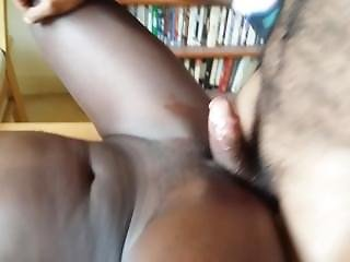 Tall Ebony Teen Squirting Uncontrollably As I Dominate Her