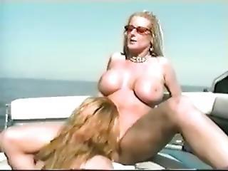 Lesbians On A Boat