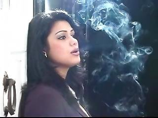 The Hot Indian Who Inhales