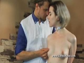 Lovely Blonde Is Punished By Her Master