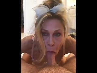 Stunning Milf Pisses All Over Her Husband