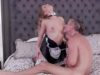 Extremely Hot Teen Maid Sydney Cole Gets Her Wet Pussy Penetrated Real Deep