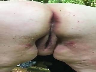 Wife In Forest Anal