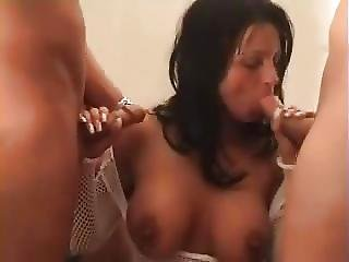 Hungry For Cock Amateur Threesome