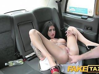 Fake Taxi Cute escort rides cock for cash