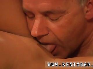 Horny Old Woman And Milf Fucks Girl When Eric Is Doing His Exercise He