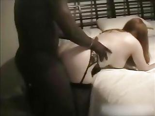 Redhead Hotwife Fucked By Black Bull Part 2