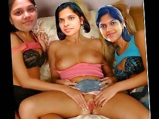 compilation, indienne, star du porno, publique