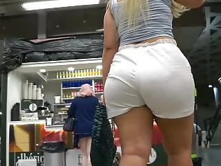 Spanish Pawg In Shorts From Gluteus Divinus