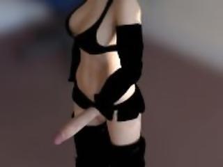 TENTACLE vs Cute FUTA Girl Sucking Blowjob 0-1 - by toxsickANIM