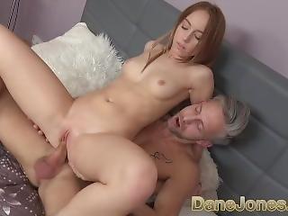 Dane Jones Petite Teen Takes A Big Bendy Cock Inside Her Tight Wet Pussy