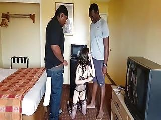 Tiny Teen Gets Dp By Monster Bbcs