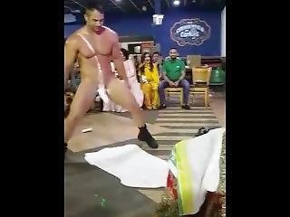 fetisch, indisch, feier, stripper