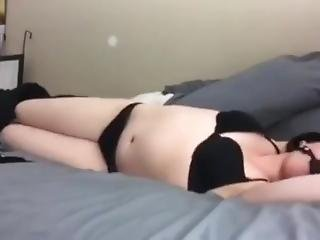 Wife Bound To Bed