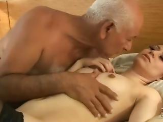 Latino Old Man Loves Sex