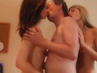 Harter Porno, Alt, Alt Und Jung, Sex, Dreier, Jung