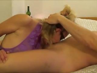 Blonde Cougar Milf Takes Throat Fucking From Selfiesmilfs.com