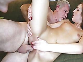 Horny Daughters Alexa Grace And Molly Manson Screw Older Dudes