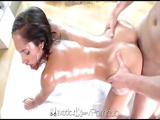 Oiled Body And Pussy Showered With Cum For Chloe Amour - Exotic4k