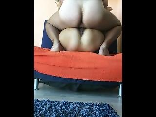 Fucking My Step Sister In Front Of Window And People Outside