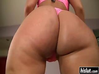 Madison Rose Spreads Her Legs Widely To Get Her Tiny Cunt Fucked