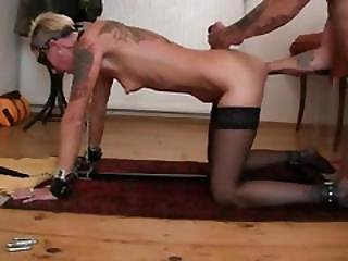 Deep Anal Fisting For Rebel Slut