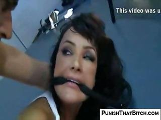 Lisa Ann Punished By Interrogator
