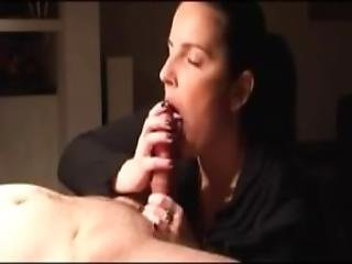 Slow Blowjob And Licking Of Dick Until He Cums