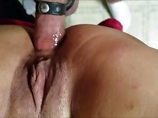 Wifey Taking Anal From Different Positions. Plus A Little Throat Fucking.